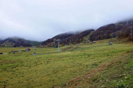panorama of campitello matese ski resort