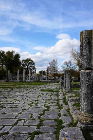 archaeological site of the ancient city of Sepino