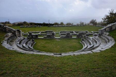 Site archéologique de Pietrabbondante en Molise