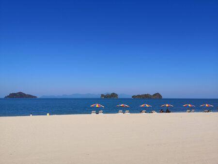 beautiful beach in langkawi Malaysia