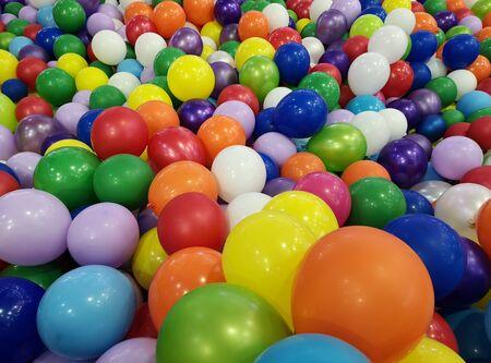 colorful balloons corner games mall