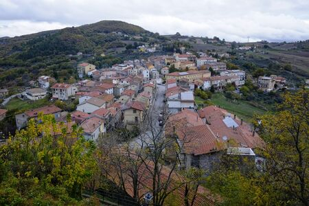 Fresagrandinaria characteristic country in abruzzo, italy