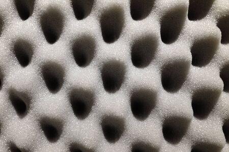 details of gray sponge for packaging
