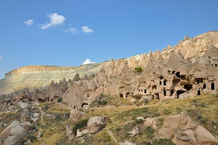 honeycombed: Zelve Valley, Cappadocia