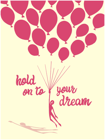 Hold on to your dream design in color