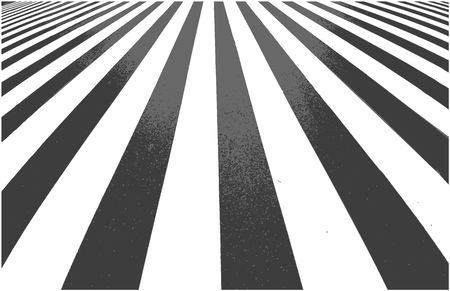 Road crossing. Zebra background in perspective with light and shadow