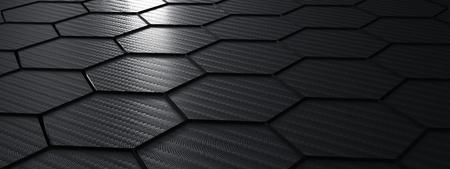 black carbon fiber structure - Illustration Stok Fotoğraf