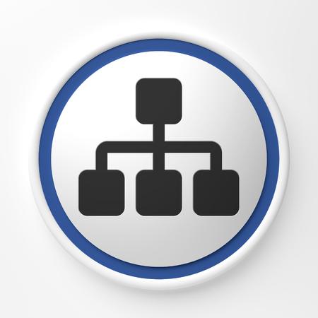 symbol icons for the internet - Illustration