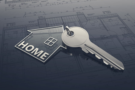 House Key - Illustration Stock Photo