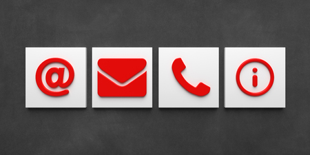 Contact Icons - Illustration