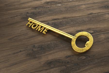 House Key - Illustration Stock Photo