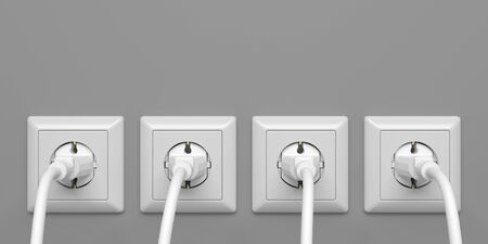Power Plugs - Illustration