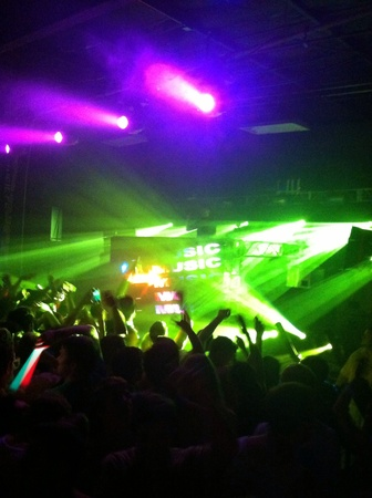 molly: Rave in Raleigh for Alesso Concert