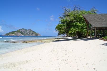 ladigue: Empty beach on Grand Soer island, Seychelles