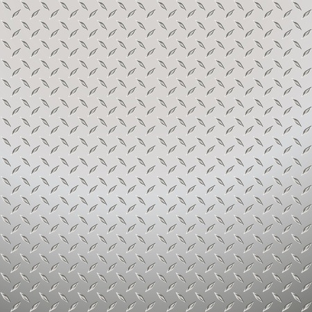 aluminium texture: Vector illustration of the metal plate Illustration