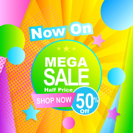 sale background design with abstract design and gradient color for promotion and advertisement