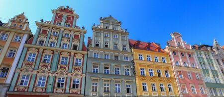 tenement: a historic tenement houses, Poland