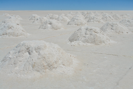 salar: Salar de Uyuni in the Bolivia  Landscape Stock Photo