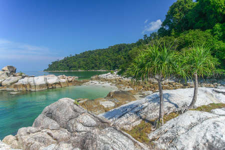 beach landscape: Tropical beach in Malaysia  Landscape