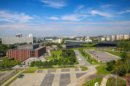 Katowice  City panorama