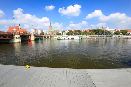 Szczecin / harbor view