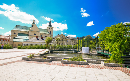 Rzeszow  Public garden in the city center  Landscape
