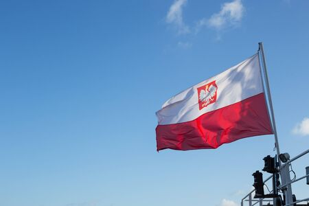 polish: The Polish flag