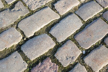 cobblestone road: Cobblestone road background