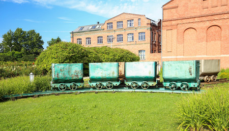 View of the coal carriage