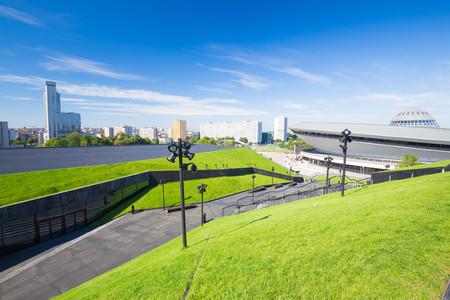 City view Katowice  Poland