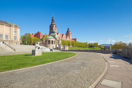 Szczecin - historical architecture  Haken terraces