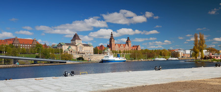 Szczecin  Panorama of the historical part of the city