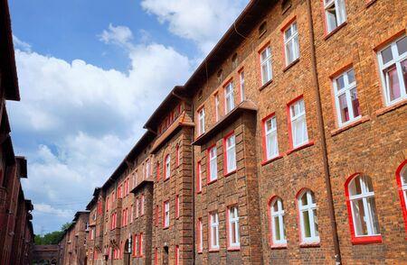 Katowice / Nikiszowiec, traditional building Zdjęcie Seryjne - 81858697