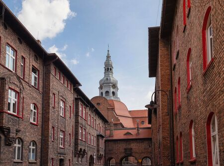 Katowice  Historical district and traditional architecture in the Silesian city