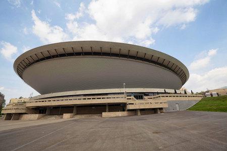 Sports hall Spodek in Katowice, Poland, june 2017