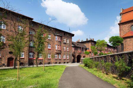 Katowice  Nikiszowiec, traditional building Zdjęcie Seryjne - 92329812
