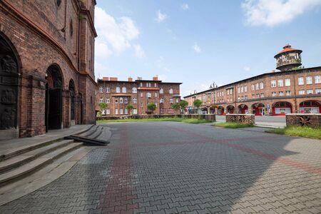 Katowice  Nikiszowiec, traditional buildings Zdjęcie Seryjne - 92329976