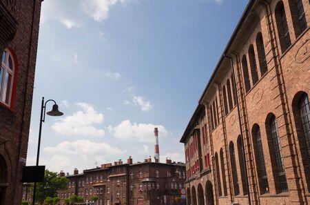 Katowice  Nikiszowiec, traditional architecture