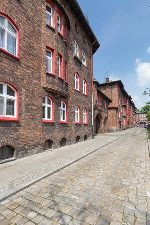 Katowice / traditional architecture of the historic mining district Zdjęcie Seryjne - 91442242