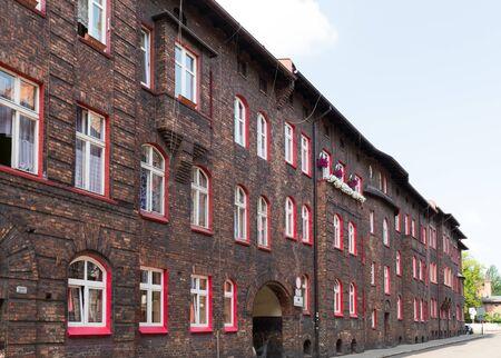 Katowice  historical architecture of the minorors district Zdjęcie Seryjne