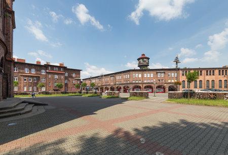 Katowice / Nikiszowiec Historical mining district and traditional architecture / june 2017 Zdjęcie Seryjne - 105242774