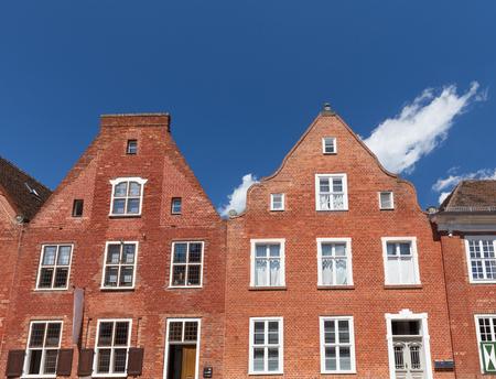 Potsdam  Hollandisches Viertel (Dutch Quarter) Traditional architecture Stock Photo