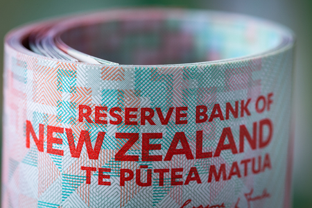 New Zealand dollars Stockfoto