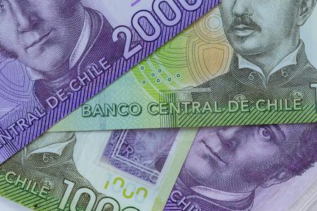 Chilean money, peso