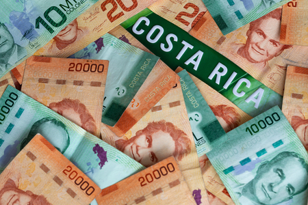 Money from Costa rica  Colones