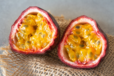 passion fruit. Tasty and healthy tropical fruit