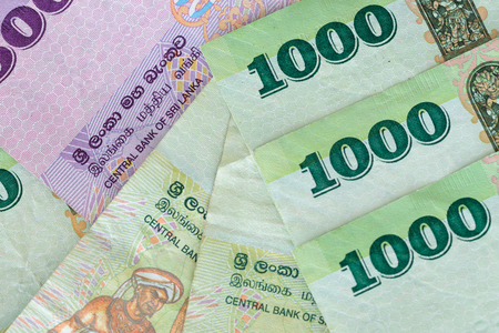 Money from Sri Lanka, Rupiah, various denominations