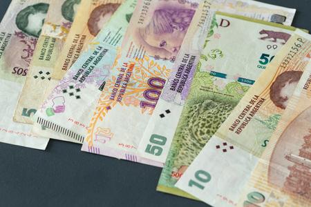 Argentine money, pesos