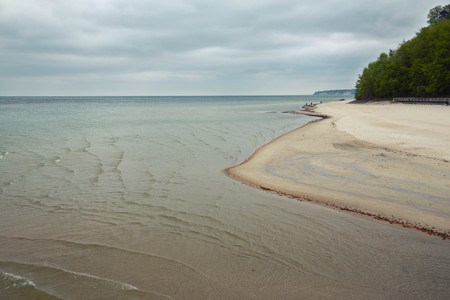 Baltic Sea, Coast on the island of Rugen in Germany