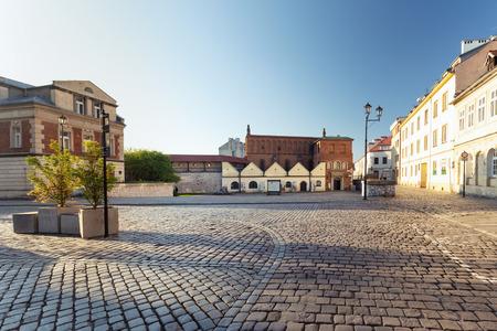 Krakau, Kazimierz-Viertel, historische jüdische Architektur